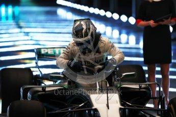 World © Octane Photographic Ltd. Formula 1 –. Mercedes AMG Petronas Motorsport AMG F1 W09 EQ Power+ launch, Valtteri Bottas – Silverstone, UK. Thursday 22nd February 2018. Digital Ref :2020LB1D8064