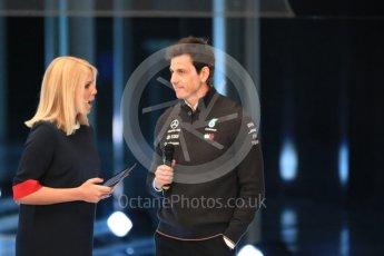 World © Octane Photographic Ltd. Formula 1 –. Mercedes AMG Petronas Motorsport AMG F1 W09 EQ Power+ launch, Toto Wolff (Team Principal and CEO) – Silverstone, UK. Thursday 22nd February 2018. Digital Ref : 2020LB1D8075