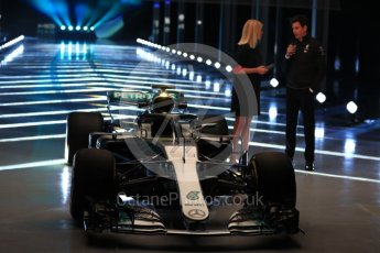 World © Octane Photographic Ltd. Formula 1 –. Mercedes AMG Petronas Motorsport AMG F1 W09 EQ Power+ launch, Toto Wolff (Team Principal and CEO) – Silverstone, UK. Thursday 22nd February 2018. Digital Ref : 2020LB1D8082