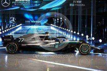 World © Octane Photographic Ltd. Formula 1 –. Mercedes AMG Petronas Motorsport AMG F1 W09 EQ Power+ launch – Silverstone, UK. Thursday 22nd February 2018. Digital Ref :2020LB1D8189