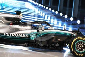 World © Octane Photographic Ltd. Formula 1 –. Mercedes AMG Petronas Motorsport AMG F1 W09 EQ Power+ launch – Silverstone, UK. Thursday 22nd February 2018. Digital Ref :2020LB1D8194