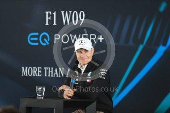 World © Octane Photographic Ltd. Formula 1 –. Mercedes AMG Petronas Motorsport AMG F1 W09 EQ Power+ launch, Valtteri Bottas – Silverstone, UK. Thursday 22nd February 2018. Digital Ref : 2020LB1D8248