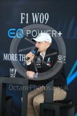 World © Octane Photographic Ltd. Formula 1 –. Mercedes AMG Petronas Motorsport AMG F1 W09 EQ Power+ launch, Valtteri Bottas – Silverstone, UK. Thursday 22nd February 2018. Digital Ref : 2020LB1D8256