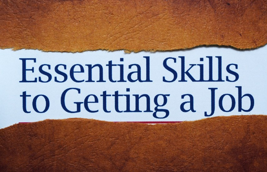 Essential skills to get a job