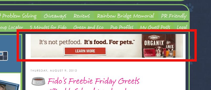 pay per click example ad