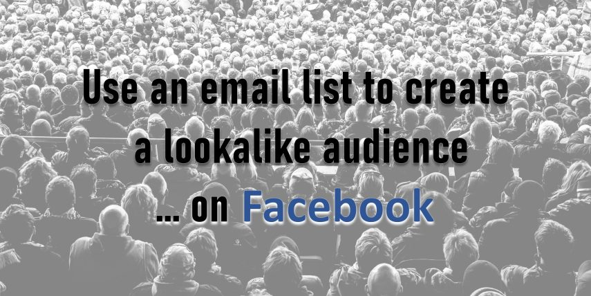 Lookalike Audience on Facebook