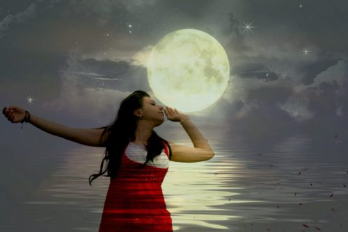 Woman in the Moonlight, Emotional Tips, Octavia Brooks, Shamanic Healing, Energy Healing, Clearing Energy, Self-Care