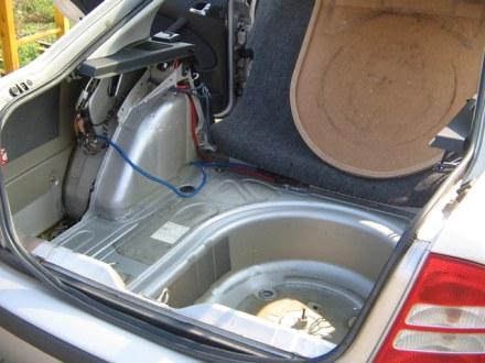 Tlumení kufru Vibraflexem Škoda Octavia 2