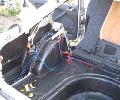 Tlumení kufru vibraflexem Škoda Octavia 16