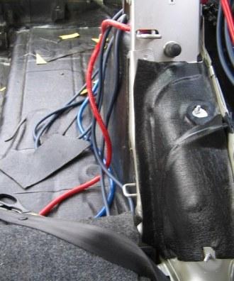 Tlumení kufru vibraflexem Škoda Octavia 21