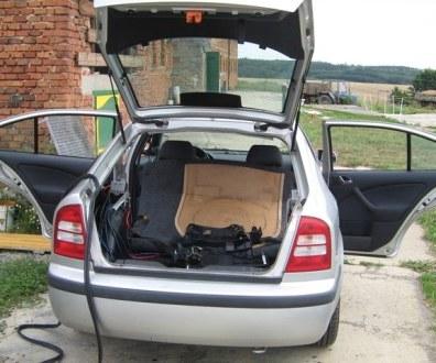 Tlumení kufru vibraflexem Škoda Octavia 24