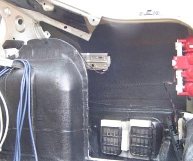 Tlumení kufru vibraflexem Škoda Octavia 28