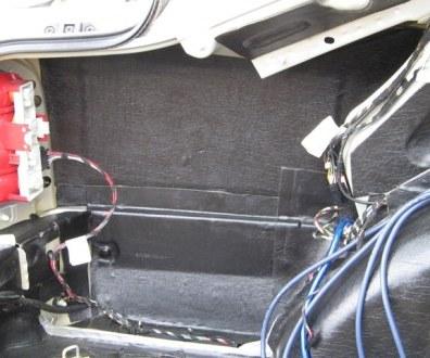 Tlumení kufru vibraflexem Škoda Octavia 30