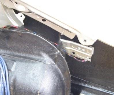 Tlumení kufru vibraflexem Škoda Octavia 33