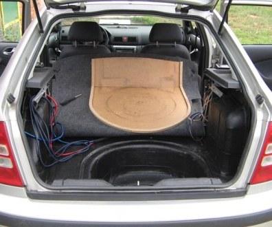Tlumení kufru vibraflexem Škoda Octavia 42
