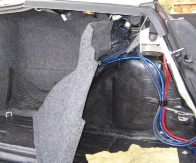 Tlumení kufru vibraflexem Škoda Octavia 48