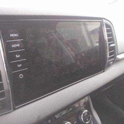 Palubní počítač ve Škoda Karoq 1.5 TSi