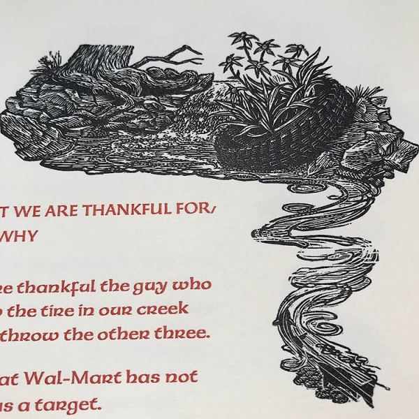 What We Are Thankful For, And Why