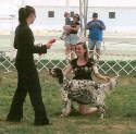Ashley and Sage Competing in 4H