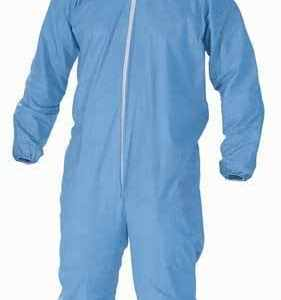 Basic Protective Elastic Lab Coverall With Hood 1500ct