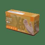 GPX3 Industrial Grade Clear Vinyl Gloves Case of 5
