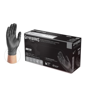 Gloveworks Industrial Synthetic Vinyl Black