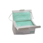 LHM Green Level 3 Procedure 3-Ply Face Mask