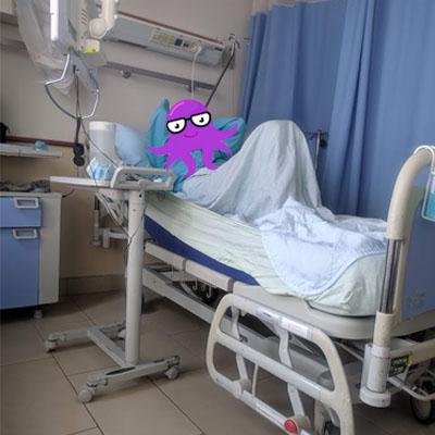 חולה בבית חולים