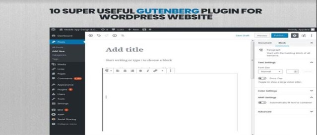 10 Super Useful Gutenberg Plugin For WordPress Website