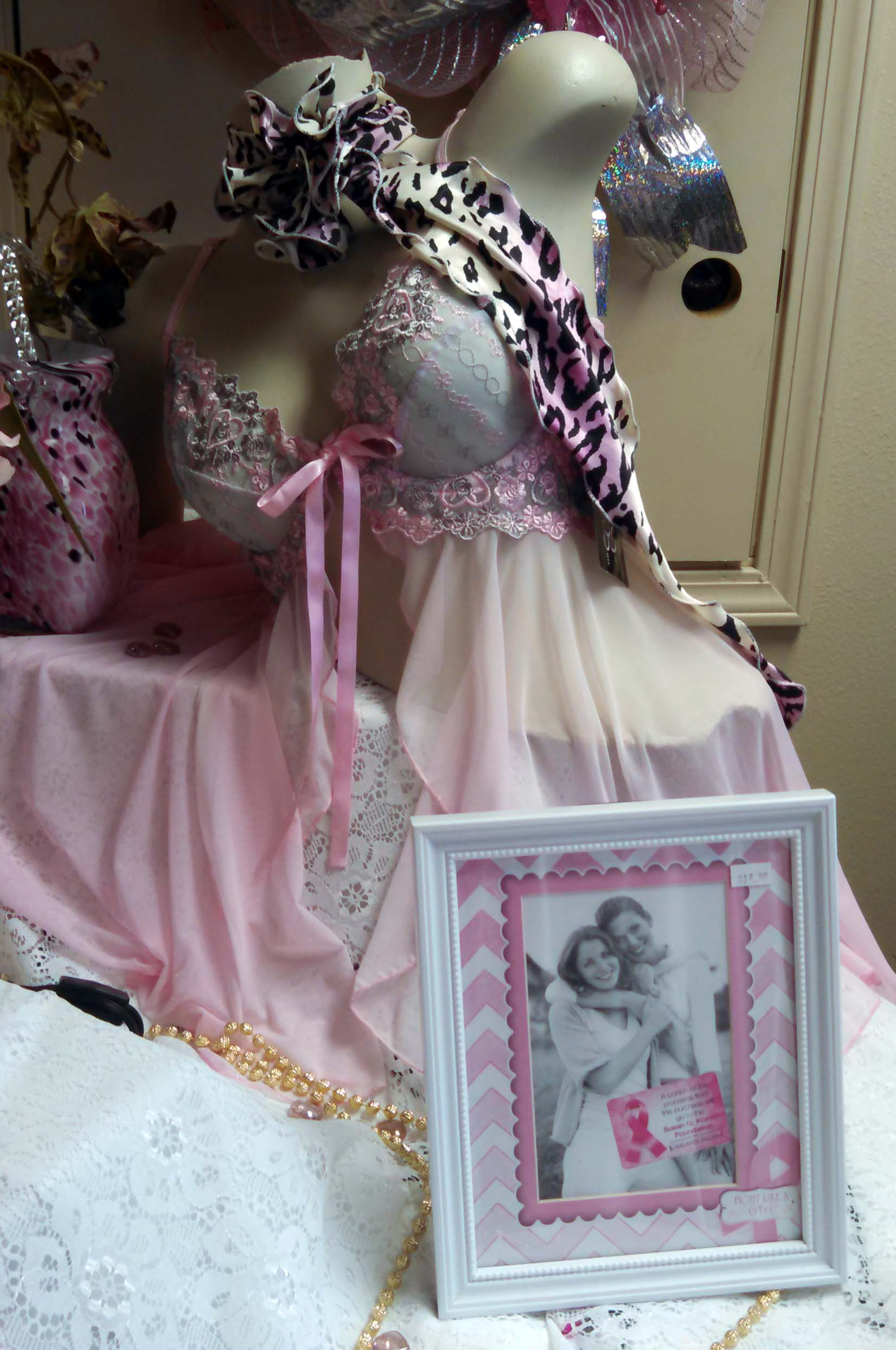 breast cancer awareness gifts at luv lingerie