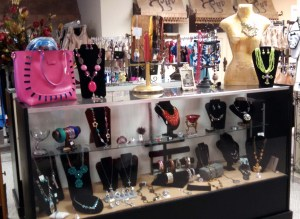 Jewelry selections at Luv Lingerie