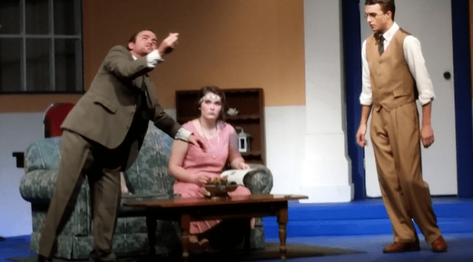 Directorial debut a hit for OCP's Lend Me a Tenor