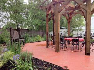 The Gazebo is perfect for outdoor weddings at Beau Reve