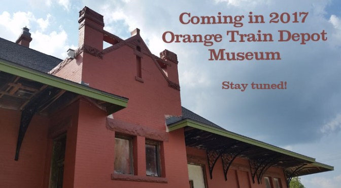 Museum committee meeting for Orange Train Depot