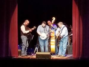 Sabine Rever Bend Bluegrass Band at the Jefferson Theater