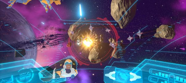 DreamWorks Voltron VR Chronicles game screenshot courtesy Steam