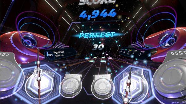 Into the Rhythm VR game screenshot courtesy Steam