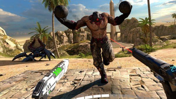 Serious Sam VR: The Last Hope game screenshot courtesy Steam