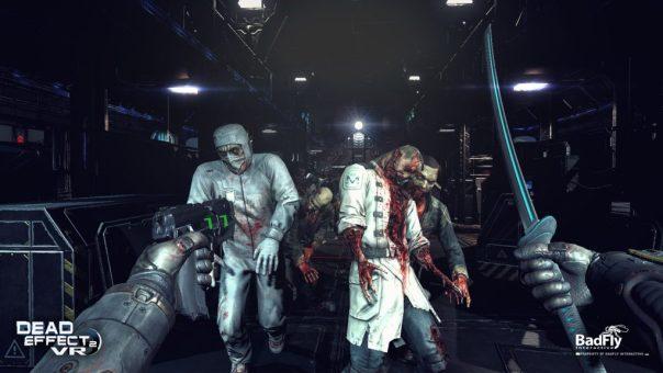 Dead Effect 2 VR game screenshot courtesy Steam