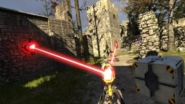 The Talos Principle VR game screenshot courtesy Steam