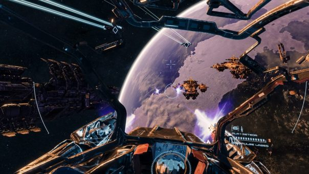 End Space game screenshot courtesy Oculus