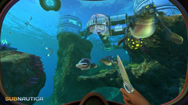 Subnautica game screenshot courtesy Steam