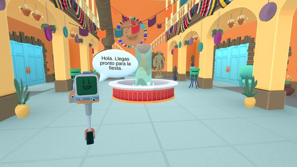 busuu -  Learn Spanish - screenshot courtesy Oculus