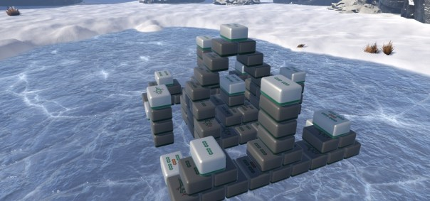 3D Mahjong Worlds - screenshot courtesy Steam