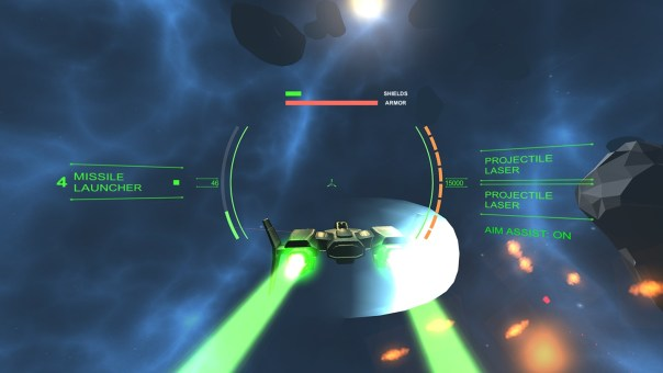 No Horizon - screenshot courtesy Oculus