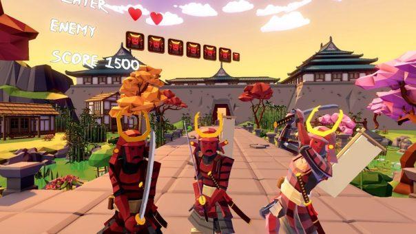 Virtual Ninja VR - screenshot courtesy Oculus