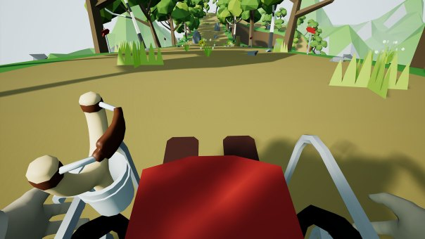 Wheelchair Simulator VR - screenshot courtesy Steam