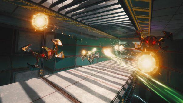 Overload - screenshot courtesy Steam