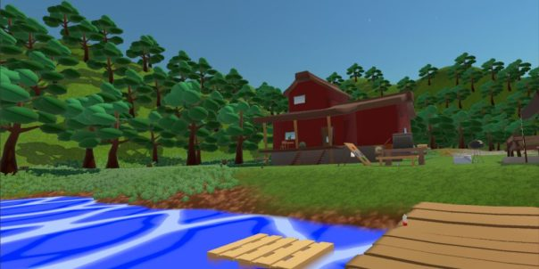 FinSummerVR game screenshot courtesy Steam