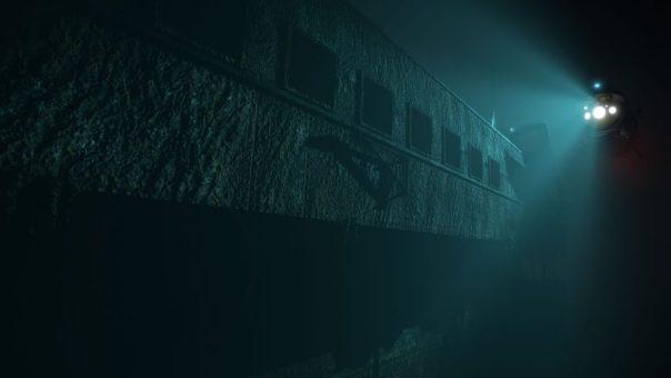 Titanic VR game screenshot courtesy Steam